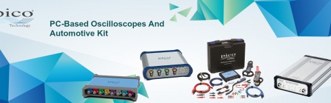 PC Oscilloscope, Data Logger & RF Products